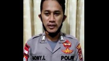 Sudah Dipukuli Kapolres Nunukan, Brigadir SL Kini Muncul ke Publik: Maaf, Komandan...